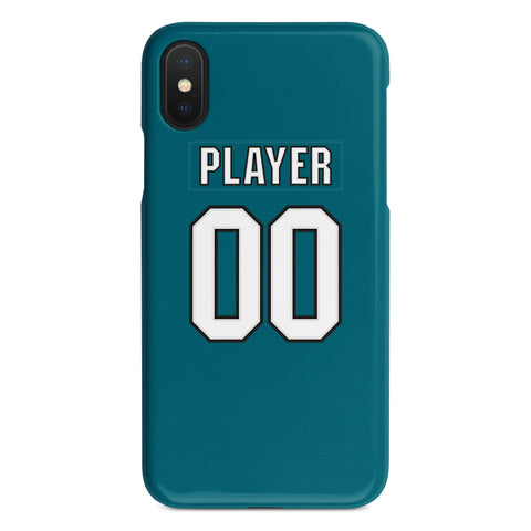 San Jose Sharks Home Jersey Phone Case