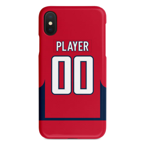 Washington Capitals Home Jersey Phone Case