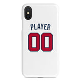 Atlanta Braves Home Jersey Phone Case