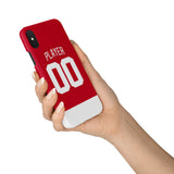 Detroit Red Wings Home Jersey Phone Case