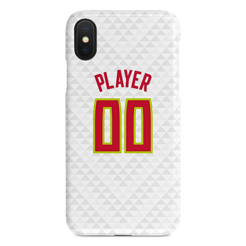 Atlanta Hawks Association Jersey Phone Case