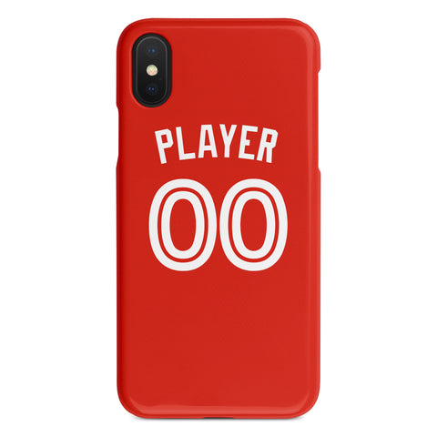 Toronto Blue Jays Red Alternate Jersey Phone Case