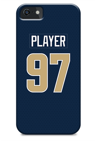 Los Angeles Rams Home Jersey Phone Case