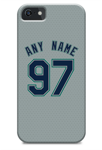 Seattle Mariners Custom Away Jersey Phone Case