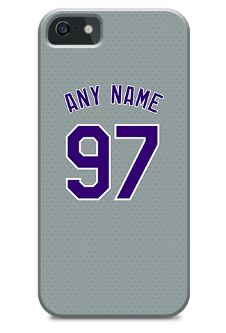 Colorado Rockies Custom Away Jersey Phone Case