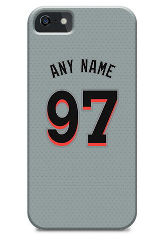 Miami Marlins Custom Away Jersey Phone Case