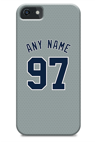 New York Yankees Custom Away Jersey Phone Case