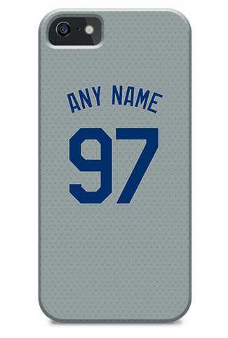 Los Angeles Dodgers Custom Away Jersey Phone Case