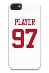 San Francisco 49ers Away Jersey Phone Case