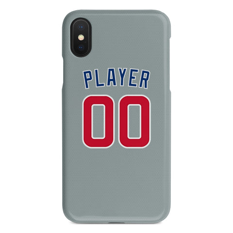 Chicago Cubs Away Jersey Phone Case