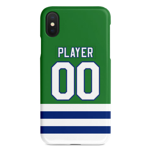 Carolina Hurricanes Throwback Jersey Phone Case