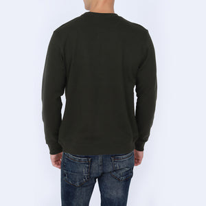 Army Green Color Sweatshirt for Men
