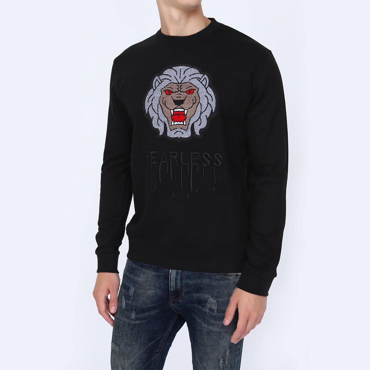 Men's Black Sweatshirt online at best price