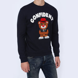 Buy Black Color Mens Sweatshirt Online