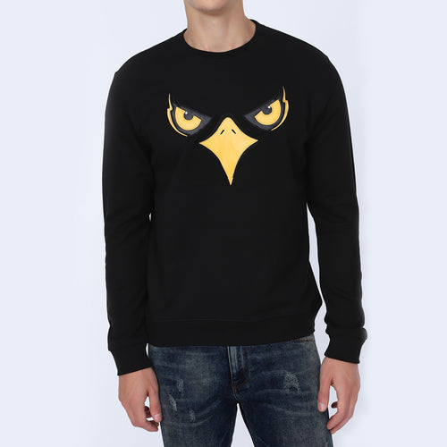 Men's Black Eagle Sweatshirt