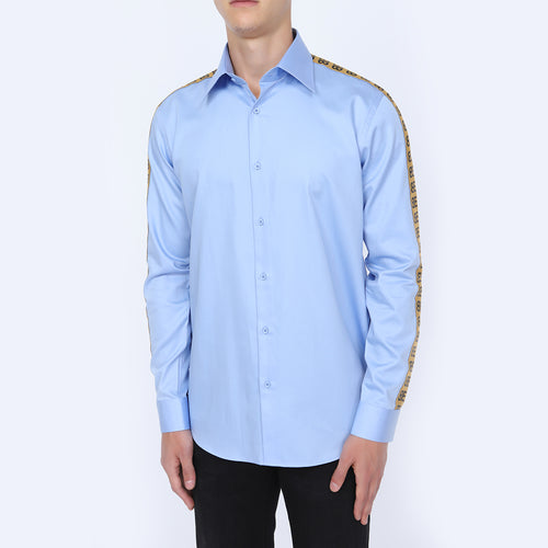 Men's Full Sleeve Formal Light Blue Shirt