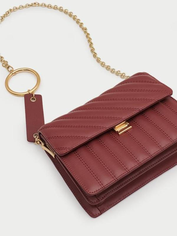 Spiraea Chain Shoulder Bag