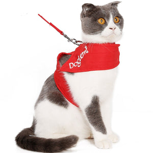 Cat Rope Cat Traction Rope Chest Strap Anti-breaking cat chain tie cat kit