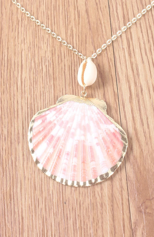Cross-border Bohemian Shell Scallops Combination Necklace Chain
