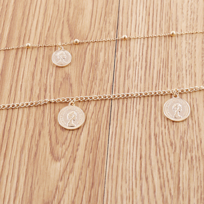 Simple Wild Necklace Combination Multi-layer Necklace
