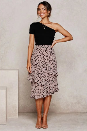 Retro Polka Dot Sexy Skirt