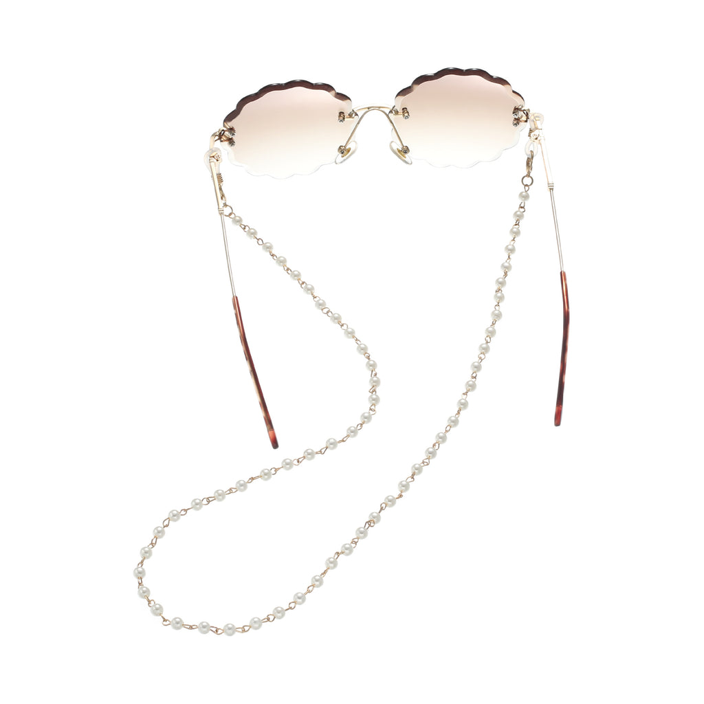 Chic Fashion Casual Pearl Beaded Eyeglass chain