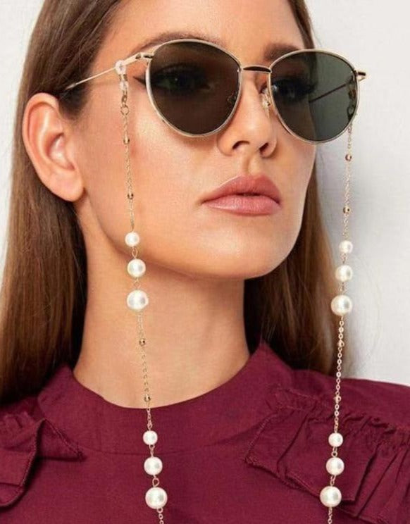 Stylish Simplicity Pearl Glasses Chain