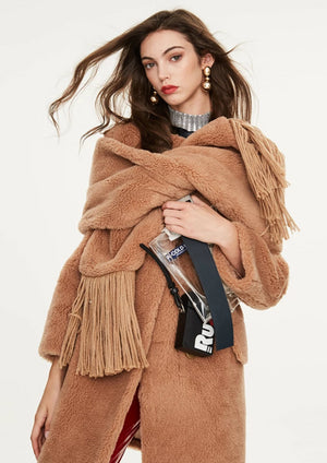 Fur High Quality Fashion Scarves