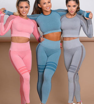 Sportswear Suits Seamless Gym Wear Fitness Clothing Sports Wear