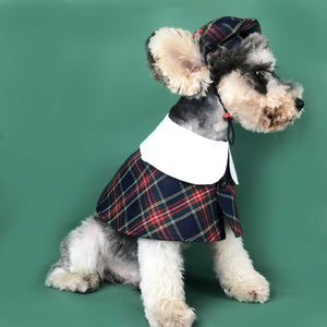 BritishVFashion Cute Teddy Schnauzer Bomei West Highland Corgi pet clothes