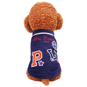 Polo Shirt Puppies Summer Vest