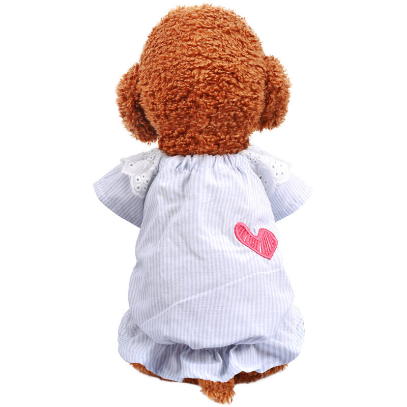 Lace Baby Shirt  Bomei Puppies Clothes