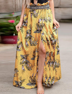 Casual Printed Floral Printed Skirts - 3 Colors
