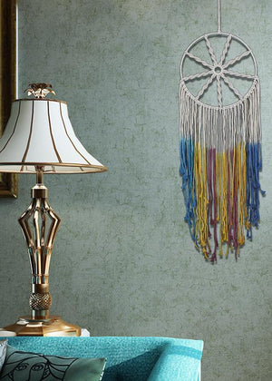Indian Tradition Handmade Tassel Dream Catcher  Wall Hanging Accessories