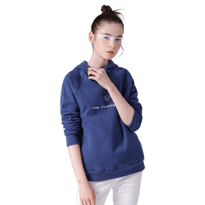 Women Printed Long Sleeve Tracksuit Casual Solid Sweatshirt