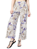 Sexy Side Split Wide Leg Pants Women Boho Beach Bottom