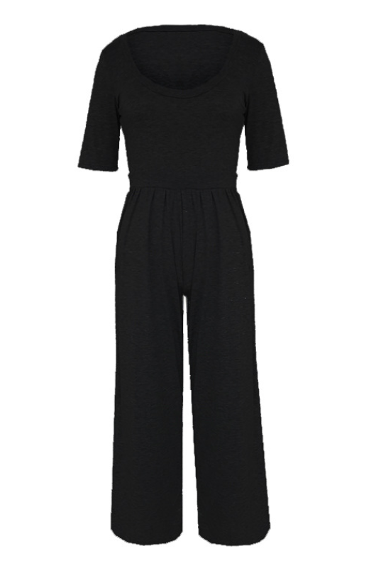 Casual Holiday Daily Jumpsuit -4color