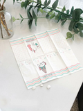 8pcs Unicorn Print Random Mini Pocket Tissue