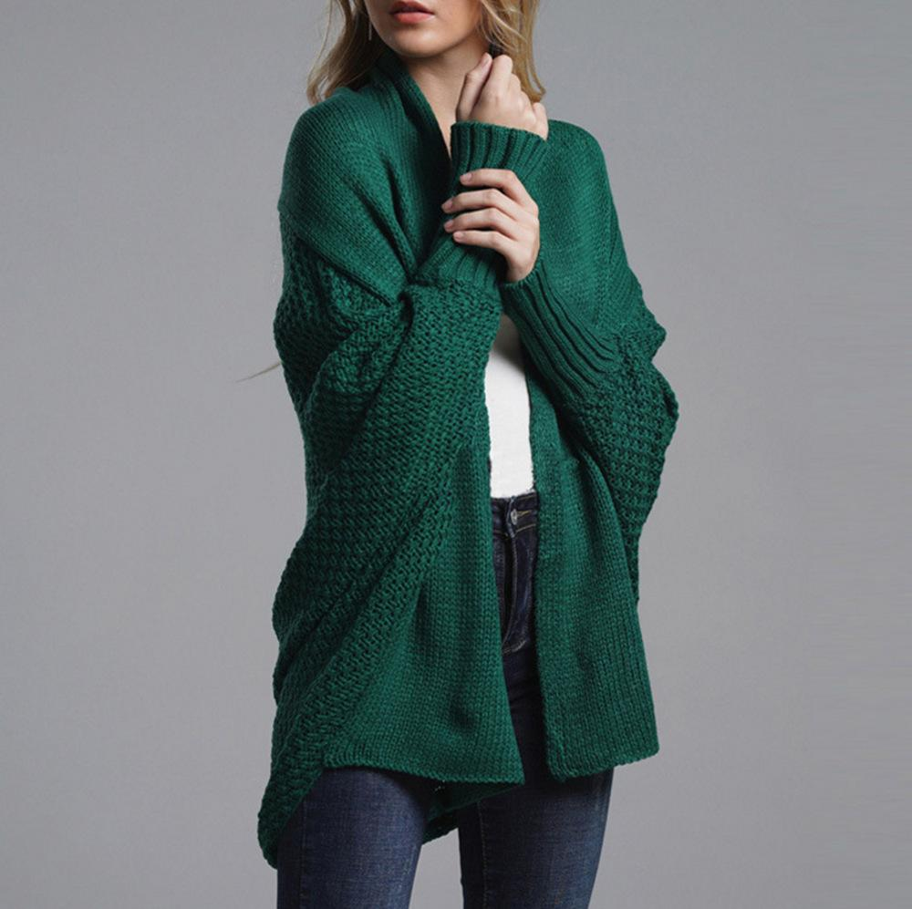 Street Bat-sleeve Knit Cardigan-10color