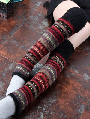 Bohemia Warmer Thick Over Knee Leg Stocking