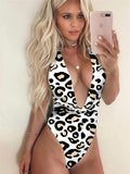 Printed Sexy Beach One Pieces
