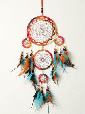 Indian style color dream catcher