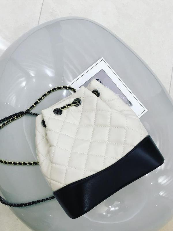 Diamond Double Shoulder Chain Bag