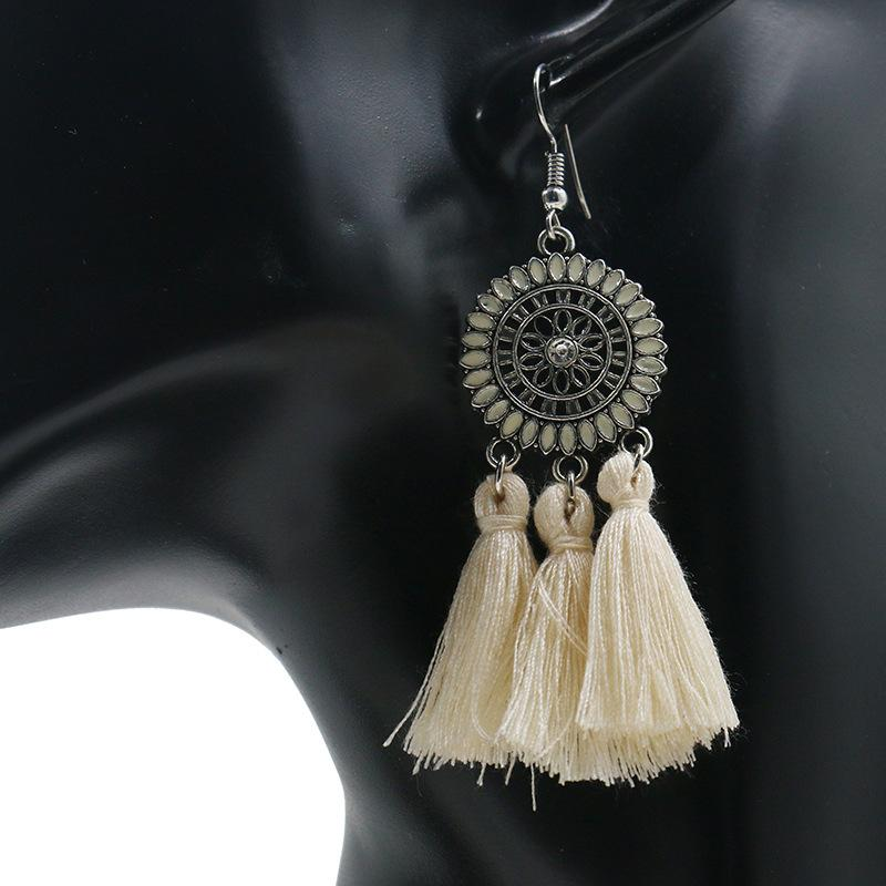 Bohemian Fashion Tassel Earrings