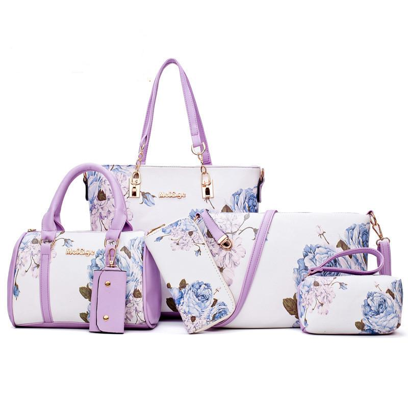Fashion Printing Mother-In-Law Bag (Six-Piece Set)