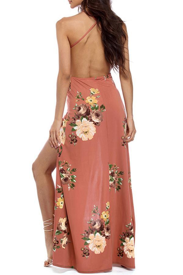 Summer Sexy Floral Strap Dresses