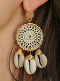 Bohemian Conch Earrings