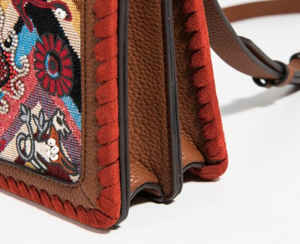 Bohemian Vintage Embroidery Floral Single Bags
