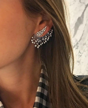 1PC Boho  Fashion Pendant Piercing Geometric Stud Earrings Jewelry