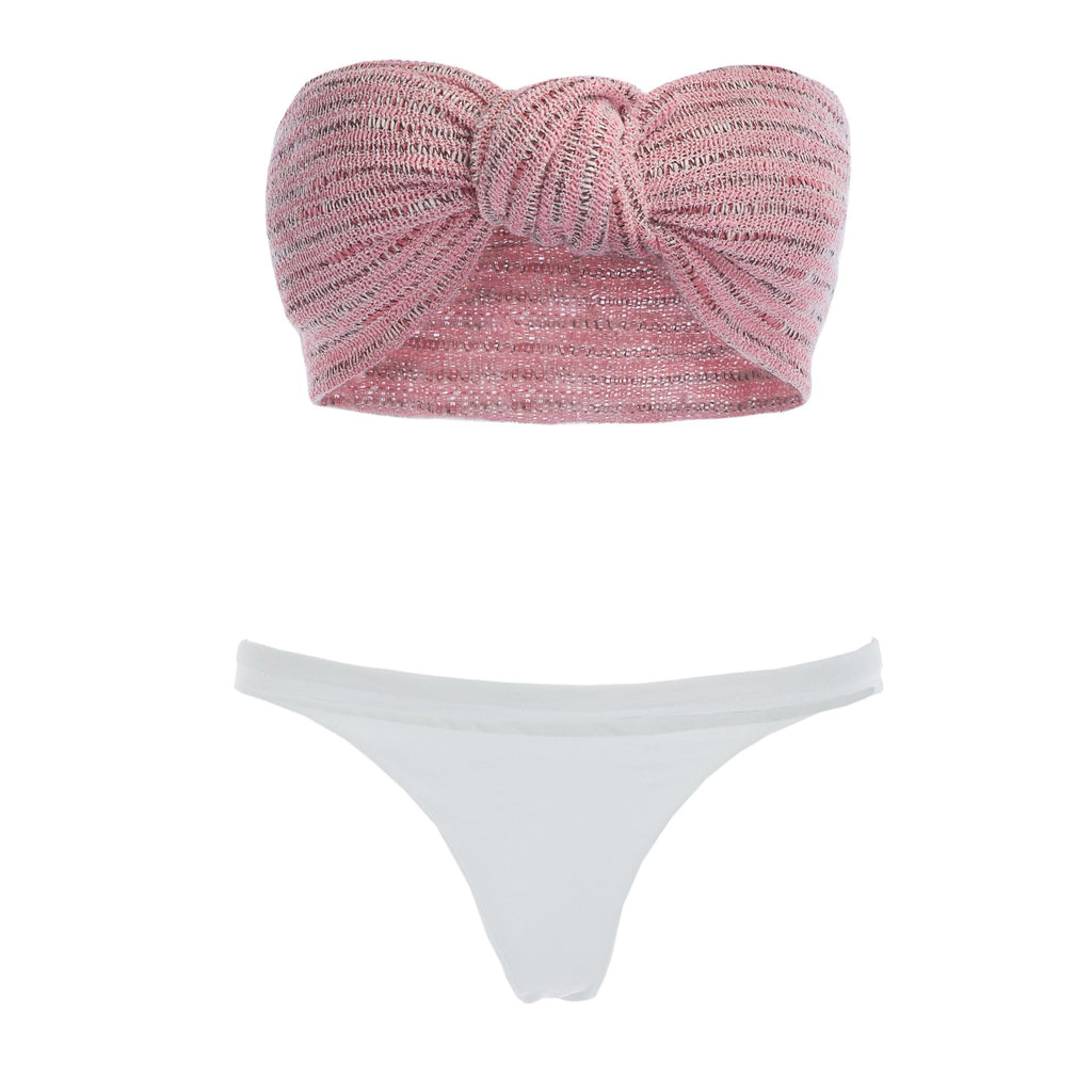 Tube Top Beach Bikini Set